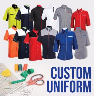 Kilang Jahit Custom Uniform